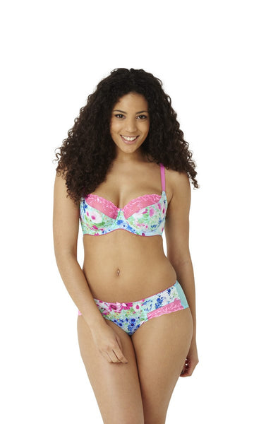 Cleo-Lingerie-Kira-Floral-Print-Balconette-Bra-7781-Brief-7782-Front