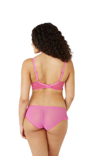 Cleo-Lingerie-Marcie-Balconette-Bra-Magenta-Orange-6831-Brief-6832-Back