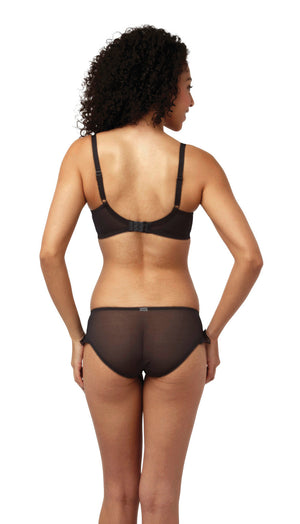 Cleo-Lingerie-Marcie-Black-Balconette-Bra-6831-Brief-6832-Back