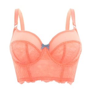 Cleo-Lingerie-Piper-Acid-Coral-Longline-Bra-9351-Front