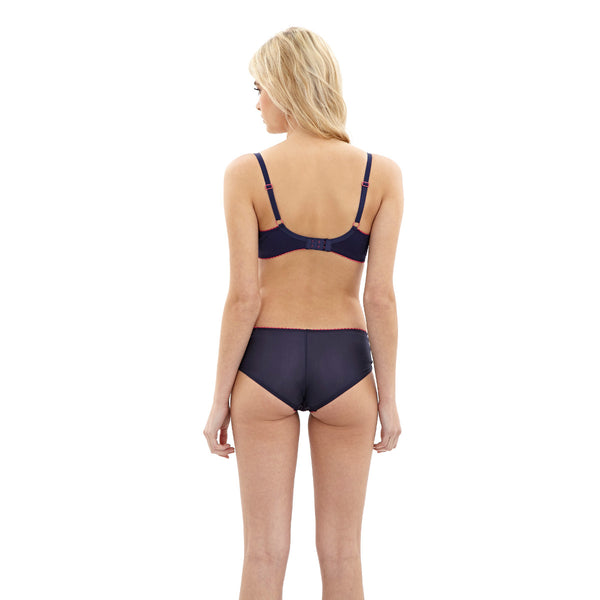 Cleo-Lingerie-Riley-Navy-Pink-T-Shirt-Bra-9141-Brief-9142-Back