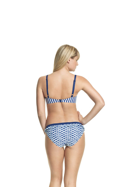 Cleo-Lucille-Moulded-Balconette-Bikini-Nautical-Stripe-CW0062-Frill-Pant-Nautical-Print-CW0067-Back
