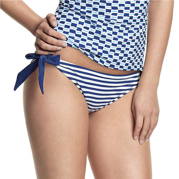 Cleo-Lucille-Tie-Side-Brief-Nautical-Stripe-CW0068-Front