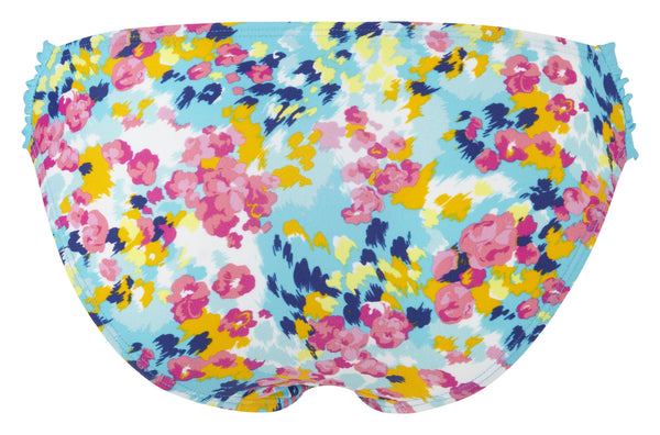 Cleo-Swim-Lulu-Gathered-Bikini-Brief-Floral-Print-CW0096-Back