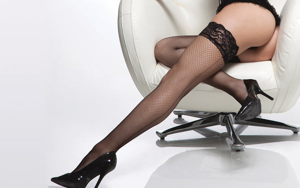 Coquette-Lingerie-Fishnet-Thigh-Highs-Black-CQ1764