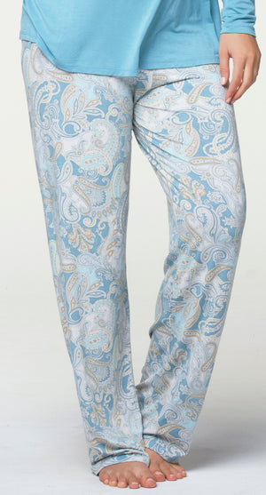 Cake-Lingerie-Maternity-Lounge-Pant-Light-Blue