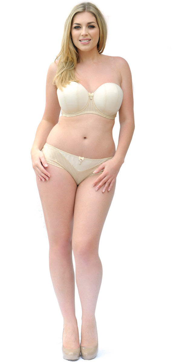 66b56168d Curvy Kate Luxe Strapless Multiway Bra Biscotti Nude - CK2601 ...