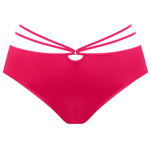 Elomi-Lingerie-Bijou-Flirt-Raspberry-Red-Brief-EL4245RAY-Front