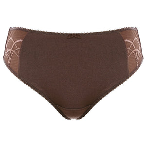 Elomi-Lingerie-Cate-Pecan-Brown-Brief-EL4035PCN-Front
