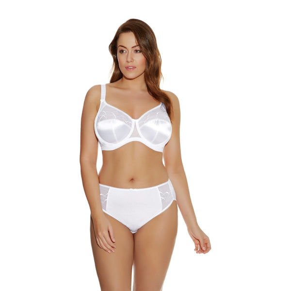 Elomi-Lingerie-Cate-White-Full-Cup-Bra-EL4030WHE-Brief-EL4035WHE-Front
