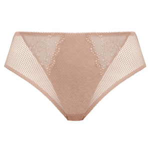 Charley High Leg Brief Fawn Nude - Elomi