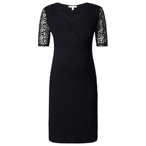 Esprit-Maternity-Black-Nursing-Dress-Y84275-Front-Zoom