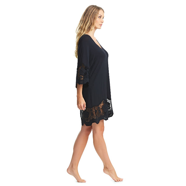 Fantasie-Dione-Black-Tunic-Beach-Cover-Up-FS6364BLK-Side