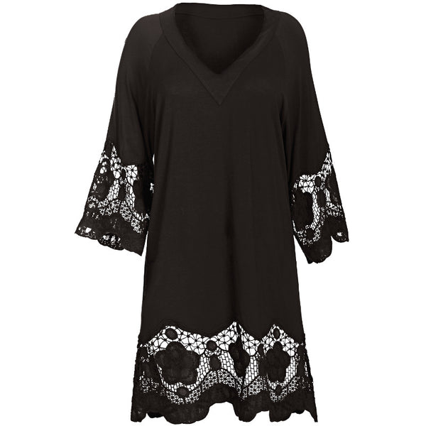 Fantasie-Dione-Black-Tunic-Beach-Cover-Up-FS6364BLK