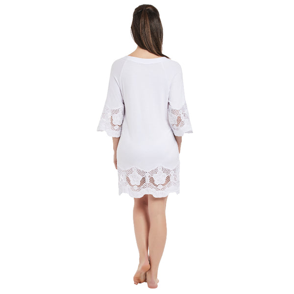 Fantasie-Dione-White-Tunic-Beach-Cover-Up-FS6364WHE-Back