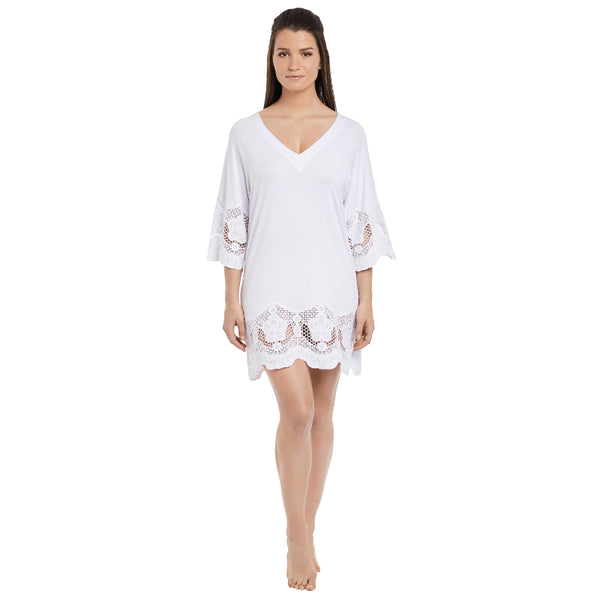 Fantasie-Dione-White-Tunic-Beach-Cover-Up-FS6364WHE-Front
