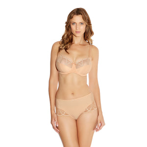 Fantasie-Lingerie-Alex-Sand-Nude-Side-Support-Bra-FL9152SAD-Short-FL9156SAD-Front