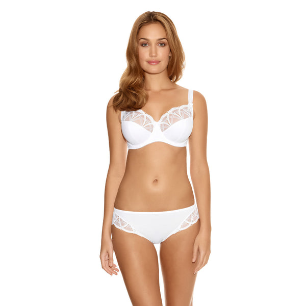 Fantasie-Lingerie-Alex-White-Side-Support-Bra-FL9152WHE-Brief-FL9155WHE-Front