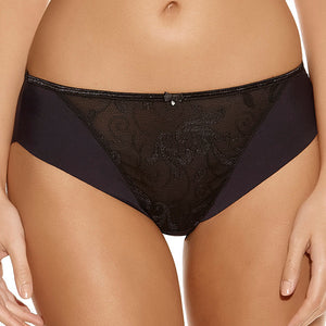 Fantasie-Lingerie-Allegra-Black-Brief-FL9095BLK-Front