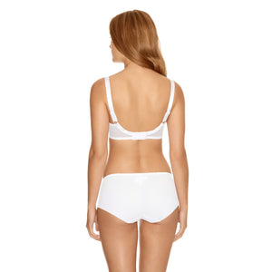 Fantasie-Lingerie-Allegra-White-Side-Support-Bra-FL9092WHE-Short-FL9096WHE-Back