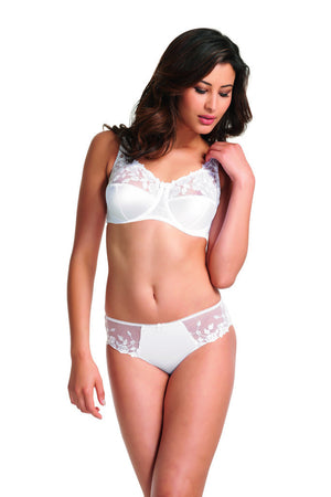 Lingerie-Belle-Full-Cup-Bra-White-FL6000/FL6001-Brief-6015