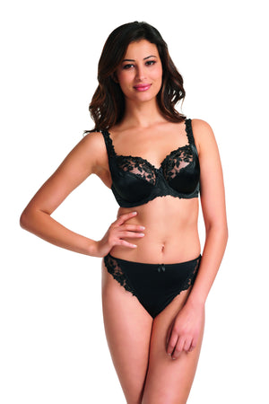 Fantasie-Lingerie-Belle-Underwired-Balconette-Bra-Black-FL6010-Thong-FL6070