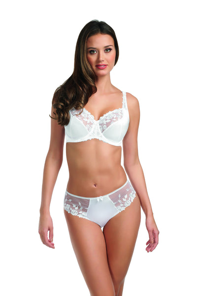 Fantasie-Lingerie-Belle-Underwired-Balconette-Bra-White-FL6010-Brief-FL6015
