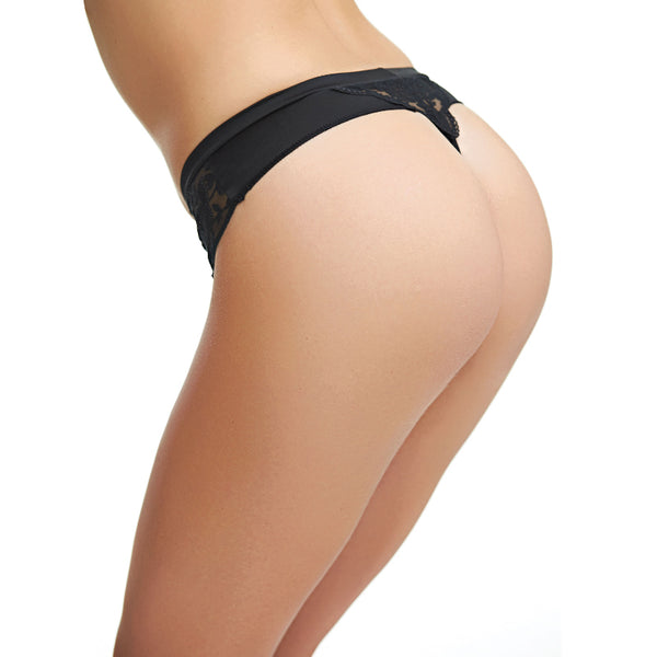 Fantasie-Lingerie-Black-Thong-FL2677BLK-Back