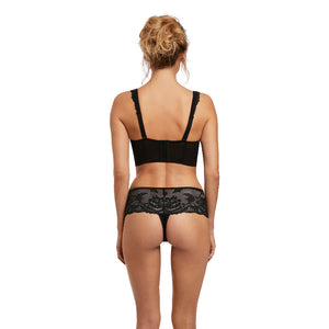 Fantasie-Lingerie-Bronte-Black-Longline-Side-Support-Bra-FL2063BLK-Thong-FL2067BLK-Back
