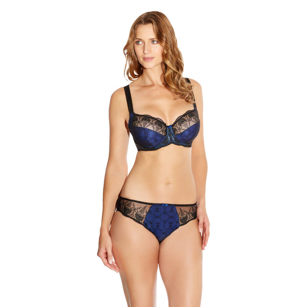 Fantasie-Lingerie-Elodie-Cobalt-Blue-Side-Support-Bra-FL2182COT-Brief-FL2185COT-Front