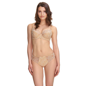 Fantasie-Lingerie-Estelle-Sand-Nude-Side-Support-Bra-FL9352SAD-Brief-FL9355SAD-Front