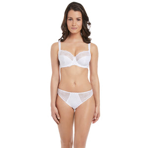 Fantasie-Lingerie-Estelle-White-Side-Support-Bra-FL9352WHE-Brief-FL9355WHE-Front