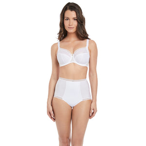 Fantasie-Lingerie-Fusion-White-Full-Cup-Side-Support-Bra-FL3091WHE-High-Waist-Brief-FL3098WHE-Front