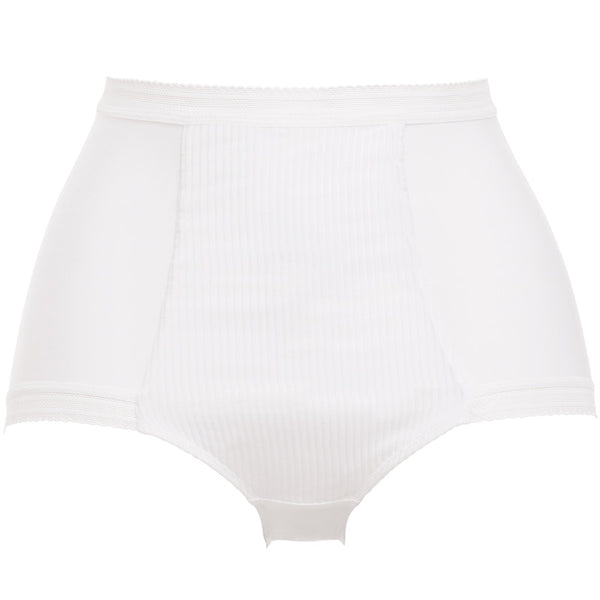 Fantasie-Lingerie-Fusion-White-High-Waist-Brief-Pant-FL3098WHE-Front