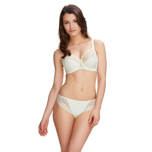 Fantasie-Lingerie-Jacqueline-Lace-Ivory-Full-Cup-Bra-FL9401IVY-Brazilian-Thong-FL9407IVY-Front