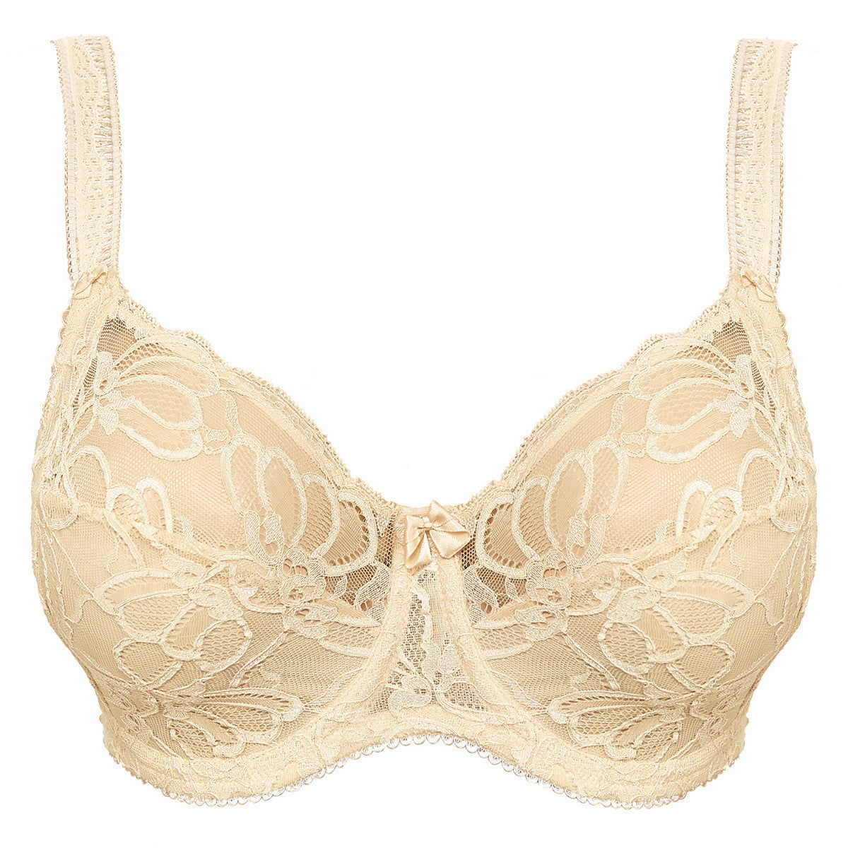 241434ad1b Fantasie Jacqueline Lace Bra Side Support Full Cup Beige