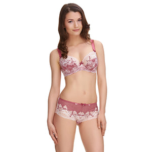Fantasie-Lingerie-Marianna-Raspberry-Side-Support-Plunge-Bra-FL9202RAY-Short-FL9206RAY-Front