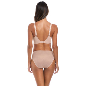 Fantasie-Lingerie-Memoir-Natural-Beige-Nude-Moulded-T-Shirt-Bra-FL3020NAE-Full-Brief-FL3025NAE-Back