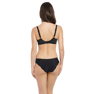 Fantasie-Lingerie-Neve-Black-Balcony-T-Shirt-Bra-FL3000BLK-Brief-FL3005BLK-Back