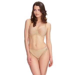 Fantasie-Lingerie-Rebecca-Lace-Sand-Nude-Spacer-Full-Cup-Bra-FL9421SAD-Brief-FL9425SAD-Front