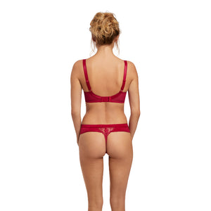 Fantasie-Lingerie-Red-Side-Support-Bra-FL2672RED-Thong-FL2677RED-Back