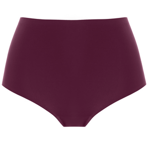 Fantasie-Lingerie-Smoothease-Black-Cherry-Burgundy-Full-Brief-FL2328BCH