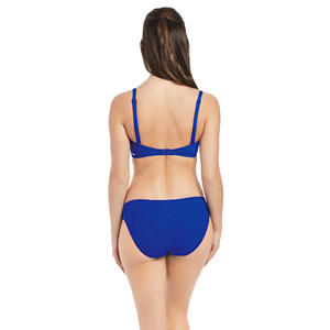 Fantasie-Swim-Ottawa-Pacific-Blue-Bandeau-Bikini-Top-Straps-FS6354PAC-Mid-Rise-Brief-FS6358PAC-Back