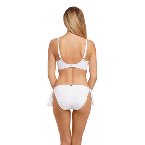 Fantasie-Swim-Ottawa-White-Gathered-Bikini-Top-FS6353WHE-Tie-Side-Brief-FS6357WHE-Back