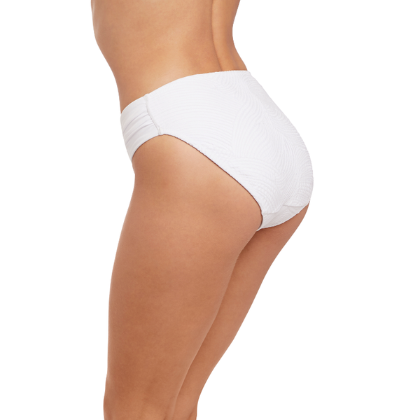 Fantasie-Swim-Ottawa-White-Mid-Rise-Gathered-Side-Bikini-Brief-FS6358WHE-Back