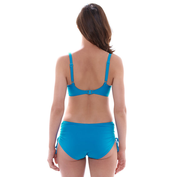 Fantasie-Swimwear-Versailles-China-Blue-Full-Cup-Bikini-Top-FS5749CHB-Adjustable-Leg-Swim-Short-FS5756CHB-Back