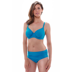 Fantasie-Swimwear-Versailles-China-Blue-Full-Cup-Bikini-Top-FS5749CHB-Gathered-Brief-FS5752CHB-Front