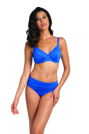 Fantasie-Swimwear-Versailles-Gathered-Full-Cup-Bikini-Top-Windsor-Blue-5749-Gathered-Brief-5752-Front