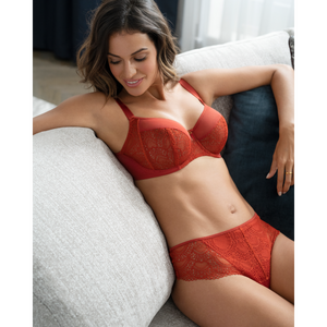 Fantasie-Twilight-Saffron-Orange-Side_Support-Bra-FL2542SAN-Brazilian-Thong-FL2547SAN-Lifestyle