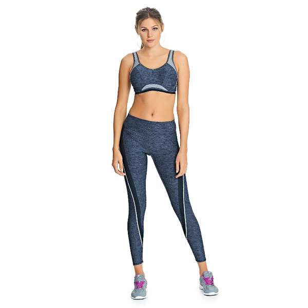 Freya-Active-Epic-Total-Eclipse-Blue-Underwired-Sports-Bra-AC4004TTE-Reflective-Twist-Leggings-AC4008TTE-Front